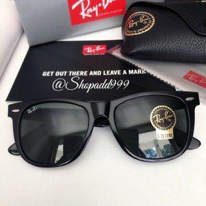 Ray-ban Wayfarer Black sunglasses 2140 54mm